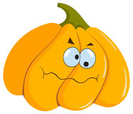 rolig halloween pumpa Royaltyfri Foto