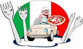 Uttrycklig export för Pizzaman Fotografering för Bildbyråer