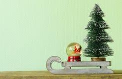 Rolig julsammansättning royaltyfria foton