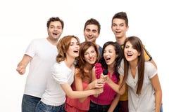 rolig karaoke Royaltyfri Fotografi