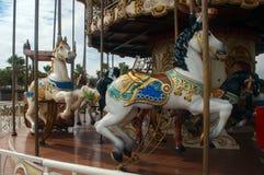 Rolig karusell Royaltyfri Bild