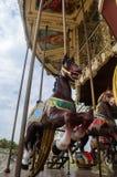 Rolig karusell Fotografering för Bildbyråer