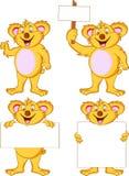 rolig koala för tecknad film Royaltyfri Foto