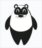 Rolig konstig panda Arkivfoton