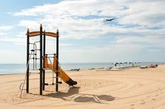 rolig landning för strand royaltyfri bild