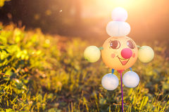 Rolig leksak som göras av ballonger Royaltyfria Foton