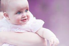 Rolig liten flicka Royaltyfria Bilder