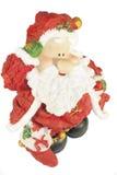 Rolig liten jultomten Fotografering för Bildbyråer