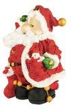Rolig liten jultomten Arkivfoton