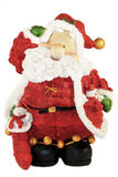 Rolig liten jultomten Arkivbilder