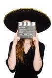 Rolig mexikan arkivbilder