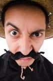 Rolig mexikan royaltyfria bilder