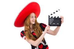 Rolig mexikan royaltyfri foto
