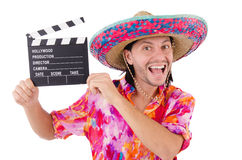 Rolig mexikan royaltyfria foton