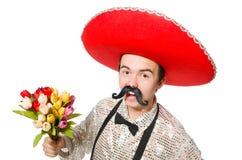 Rolig mexikan arkivbild