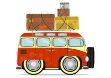 Rolig minivan Arkivbilder
