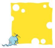 rolig mus för ram Royaltyfria Bilder