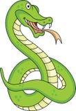 rolig orm för tecknad film Royaltyfria Bilder