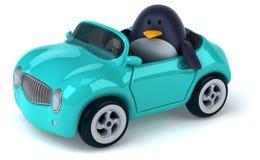 Rolig pingvin Arkivfoto
