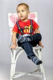 Rolig pojke Royaltyfri Fotografi