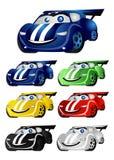 rolig race för bilar Royaltyfri Fotografi