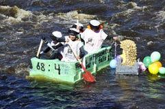 rolig race för fartyg Fotografering för Bildbyråer