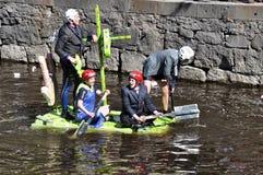 rolig race för fartyg Royaltyfri Foto