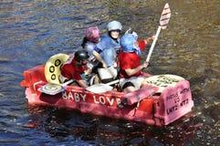 rolig race för fartyg Royaltyfria Foton