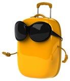 Rolig resväska Fotografering för Bildbyråer