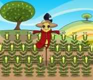 rolig scarecrow Royaltyfri Foto