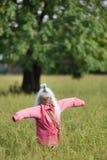 Rolig scarecrow Royaltyfri Bild