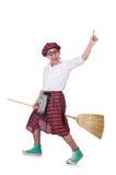 Rolig scotsman arkivfoto