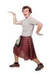 Rolig scotsman arkivfoton