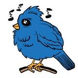 Rolig seende fågel Royaltyfri Bild