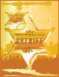 rolig sheriff Arkivfoto