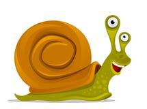 rolig snail Arkivbilder