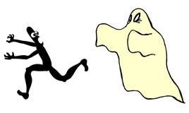 rolig spöke vektor illustrationer