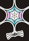 Rolig spindel Royaltyfri Fotografi