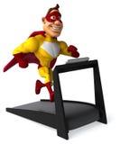 Rolig superhero Royaltyfri Foto