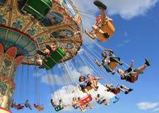 rolig swing Fotografering för Bildbyråer