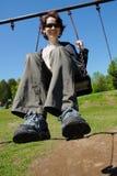 rolig swing royaltyfri fotografi