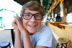 rolig tonåring Arkivfoto