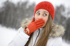 rolig vinter Royaltyfria Foton