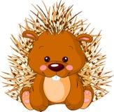 Rolig zoo. Porcupine