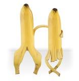 roliga bananer royaltyfri foto