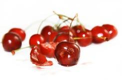 roliga Cherry Royaltyfria Foton