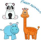 roliga djur royaltyfria bilder