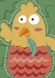 Roliga fega Art Pastel stock illustrationer