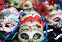 roliga feriemaskeringar för karneval Royaltyfri Fotografi