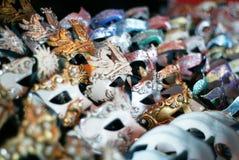 roliga feriemaskeringar för karneval Royaltyfri Bild